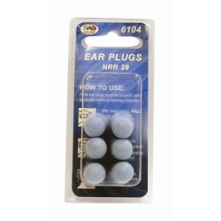 SAS Safety Foam Ear Plugs (3 Pair) SAS6104