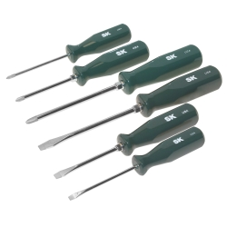 SK Tools 6 Piece Sure Grip Automotive Screwdriver Set - SKT86326
