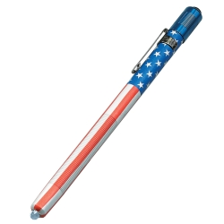 Streamlight US Flag Stylus® 3 Cell Penlight with White LED STL65080