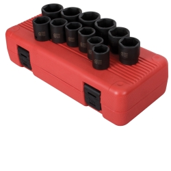 "Sunex 12pc 1/2"" Drive Metric Impact Socket Set SUN2692"