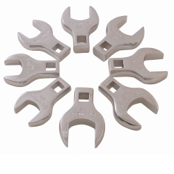 Sunex Tools 8 Piece Jumbo Metric Straight Crowfoot Wrench Set SUN9730