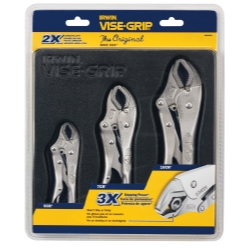 Vise Grip 3 Piece Locking Pliers Set (10CR, 7CR and 5CR) - VGP4935580