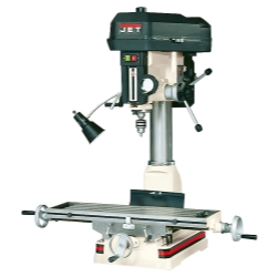 Jet Tools JMD-18, R-8 Taper Mill Drill, 2HP, 1Ph, 115/230V JET350018