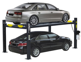 AMGO® Hydraulics 408-P Parking & Service 4 Post Car Lift 8,000 lbs