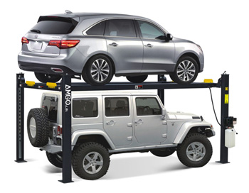 AMGO® Hydraulics 409-HP Parking & Service 4 Post Lift 9,000 lbs