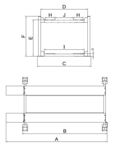 AMGO Hydraulics 409-HP Specs diagram