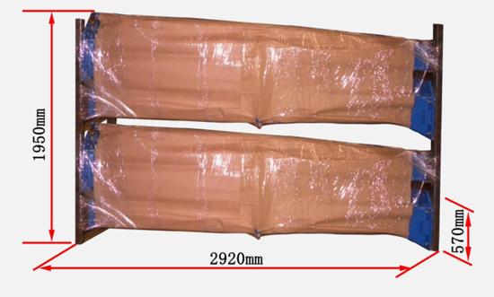 AMGO Hydraulics BP-12 shipping specs diagram