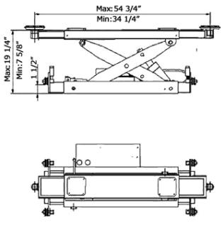AMGO Hydraulics J6A Specs diagram