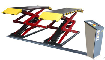 AMGO® Hydraulics XL-7 Low-Profile Full Rise Scissor Lift 7,000 lbs.