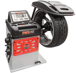 Atlas® Platinum PWB50 2D Wheel Balancer