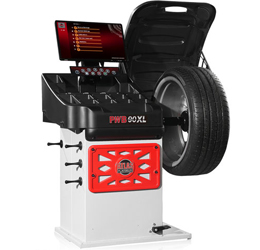 Atlas® Platinum PWB90XL 3D Video Wheel Balancer w/ Laser Line