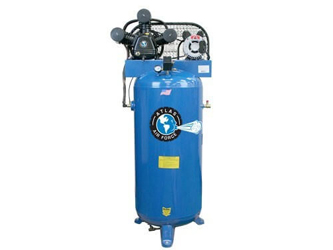 Atlas® Automotive Equipment Air Force AF4 Single Stage Single Phase 60 Gallon Air Compressor - ATAF4