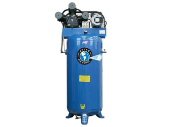 Atlas® Automotive Equipment Air Force AF5 Single Stage Single Phase 60 Gallon Air Compressor - ATAF5