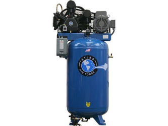Atlas® Automotive Equipment Air Force AF9 Plus/17 Two Stage Single Phase 80 Gallon 7.5HP Air Compressor - ATAF9PLUS/17
