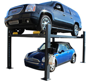 Atlas® Automotive Equipment 408-SL Premium Service/Parking 4 Post Lift 8,000 lbs