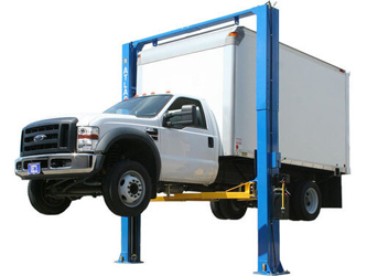 Atlas® Automotive Equipment PV-12P Ex-Wide/Ex-Tall Symmetric 2 Post Lift 12,000 lbs