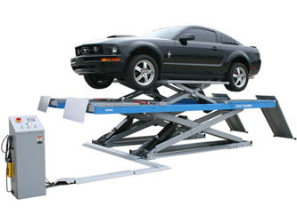 Atlas® Automotive Equipment 12AWFSL Commercial Grade Alignment Scissor Lift 12,000 lbs w/Wheels-Free System