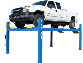 Atlas® Automotive Equipment 412A Commercial Grade 4 Post Alignment Lift 12,000 lbs
