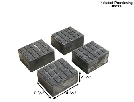 Atlas ATTD-7K-KWIK-BAY Positioning Blocks