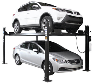 Atlas® Automotive Equipment Apex 8 ALI Certified 4 Post Parking Lift 8,000 lbs