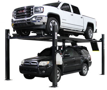 Atlas® Automotive Equipment Apex 9 ALI Certified 4 Post Hobbyist Parking Lift 9,000 lbs
