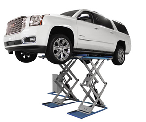 Atlas® Automotive Equipment SLP-9K Full-Rise Scissor Lift 9,000 lbs