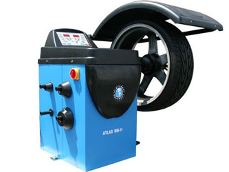 Atlas® WB11 Self-Calibrating Computer Wheel Balancer