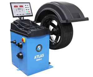 Atlas® Automotive Equipment WB49-2 Self-Calibrating 2D Computer Wheel Balancer