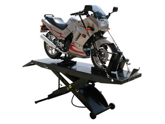 Atlas® Automotive Equipment Cycle Lift Pneumatic Portable 1,000 lbs w/Drop Out - HT-CYCLELIFT