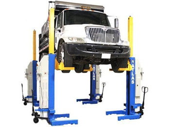 Atlas® Automotive Equipment ML-4034BC-KIT 74,000 LB. ALI Certified Battery Powered Mobile Column Lift