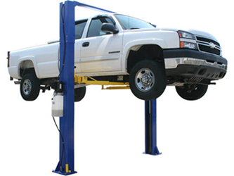 Atlas® Automotive Equipment 9KOH Symmetric/Asymmetric 2 Post Lift 9,000 lbs