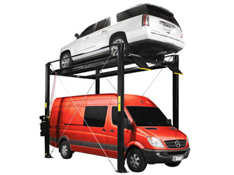 Atlas® Automotive Equipment ST-7000 Super Tall 4 Post Lift 7,000 lbs