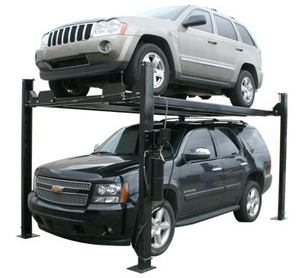 Atlas® Automotive Equipment Garage Pro 8000 EXT Ex-Tall Service/Parking 4 Post Lift 8,000 lbs