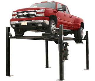 Atlas® Automotive Equipment Garage Pro 9000 Service/Parking 4 Post Lift 9,000 lbs