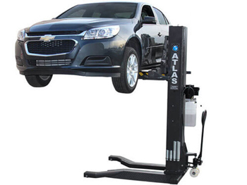 Atlas® Automotive Equipment PSP-6000 Portable Single Post Lift 6,000 lbs - XH-PSP-6000