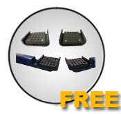 Auto Lift Free frame cradle padsOffer