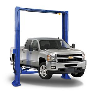 Auto Lift TP12KC-D 12K lb Two Post Clear Floor Direct Drive Car Lift