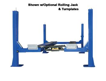 Auto Lift FP14KO-A  Open Front 4 Post Alignment Car Lift 14K Alignment Rack