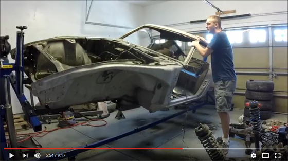 CR-3000 attaching car