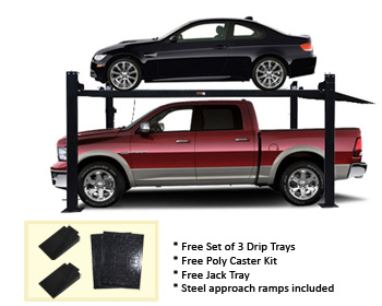 Auto Lift FP8K-DX-XLT Car-Park-8-Plus Extra Tall 8K lb Car Storage Parking Lift