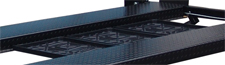 Auto Lift Car Park 8 Stackable Poly Drip Trays 3