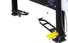 Auto Lift Car Park 9 One-Step Caster Kit