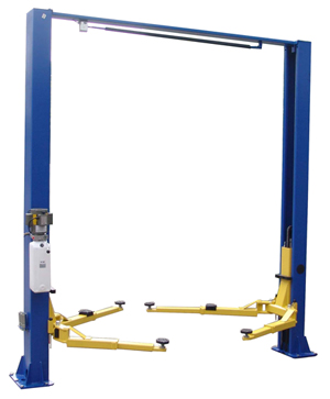 Auto Lift TP9KACX 9,000 lb. Capacity Asymmetric Two Post Car Lift - AL2- 9K-ACX