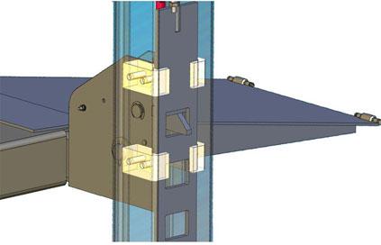 BendPak UHMW slide blocks