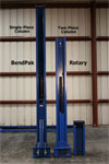 BendPak and Rotary Column Front Comparison