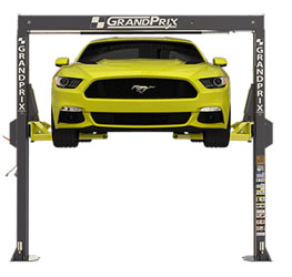 BendPak GrandPrix™ GP-7LC Bi-metric™ Narrow Bays & Low Ceilings ALI 2 Post Lift