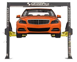 BendPak GrandPrix™ GP-7LCS Bi-metric™ Narrow Bays & Low Ceilings ALI 2 Post Lift