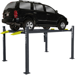 BendPak HD-7P Four Post Car Storage Parking Lift  7,000 lb. Capacity