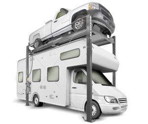 BendPak HD-7PXN 7,000-lb. Capacity Super-Tall Narrow High Speed Car Lift