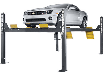 BendPak HDS-14 Standard Length Four Post Car Lift 14,000 lb. Capacity